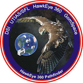Hawkeye 360 Mission Patch