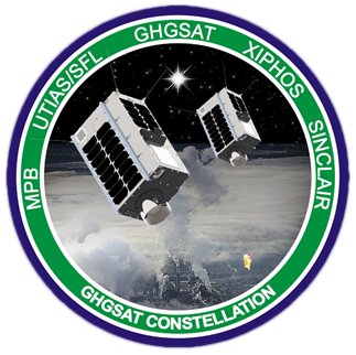 GHGSat Badge